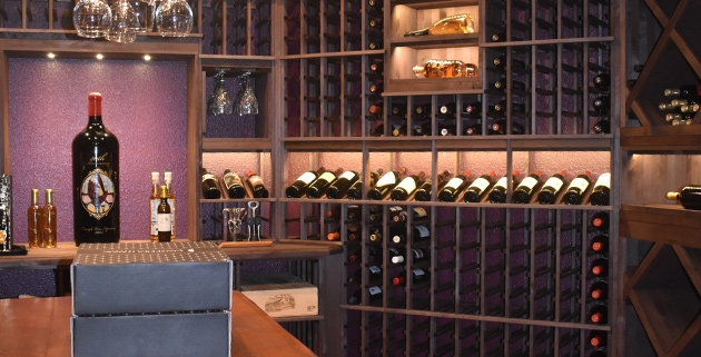 Outer Banks Remodeling Project Profile - Dream Wine Room Addition