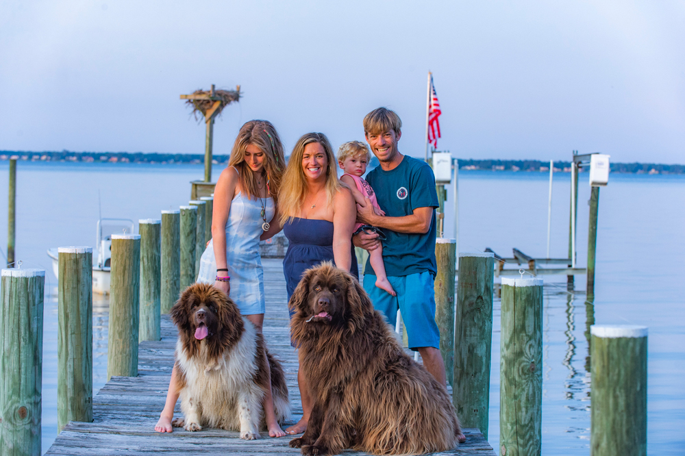 The Belvins family